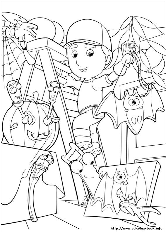 explore coloring pages cartoon and more handy manny coloring picture - Handy Manny Colouring Pages