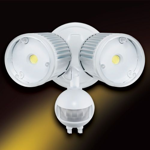 Outdoor Led Motion Lights Mesmerizing Garageservice Door Outdoor High Power Led Security Light  Motion Review