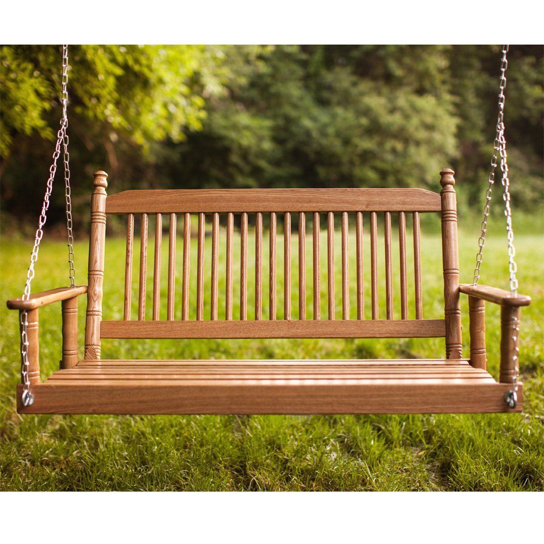 5 Oak Porch Swing Rta Seating Porch Swing Porch Hardwood
