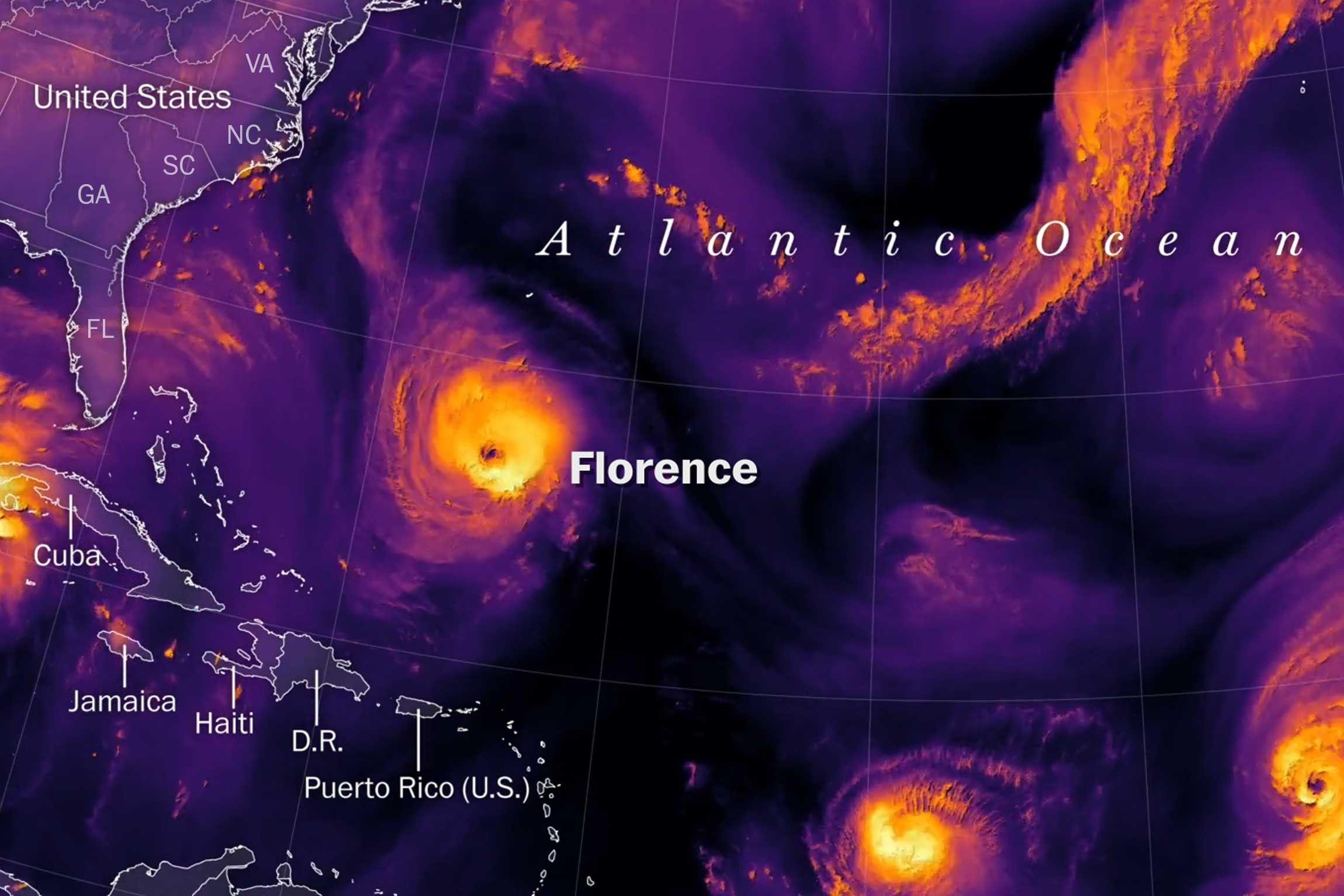 Tracking Hurricane Florence Florence Teaching Night