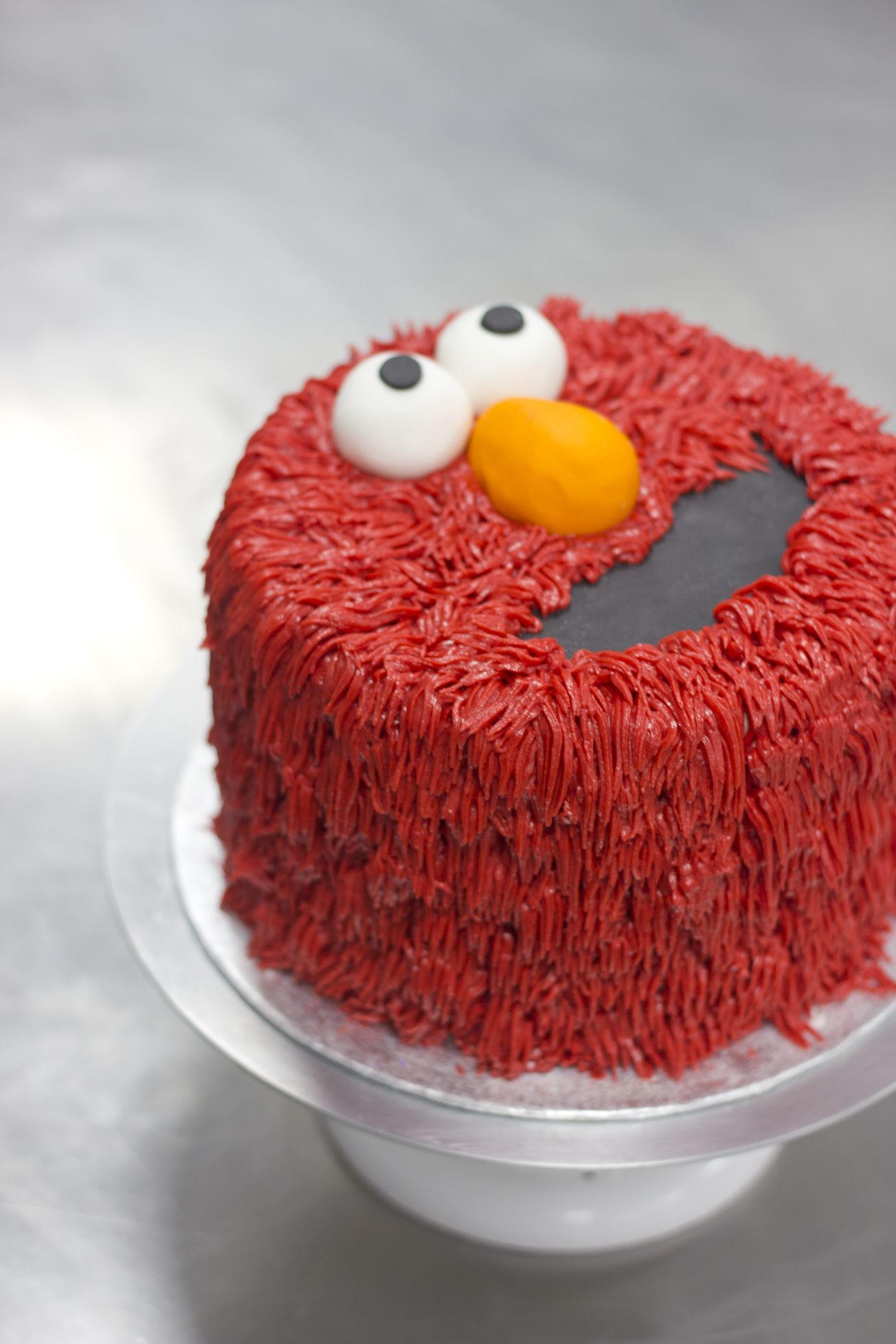 Bespoke Elmo Birthday Cake Delivered In London Elmo