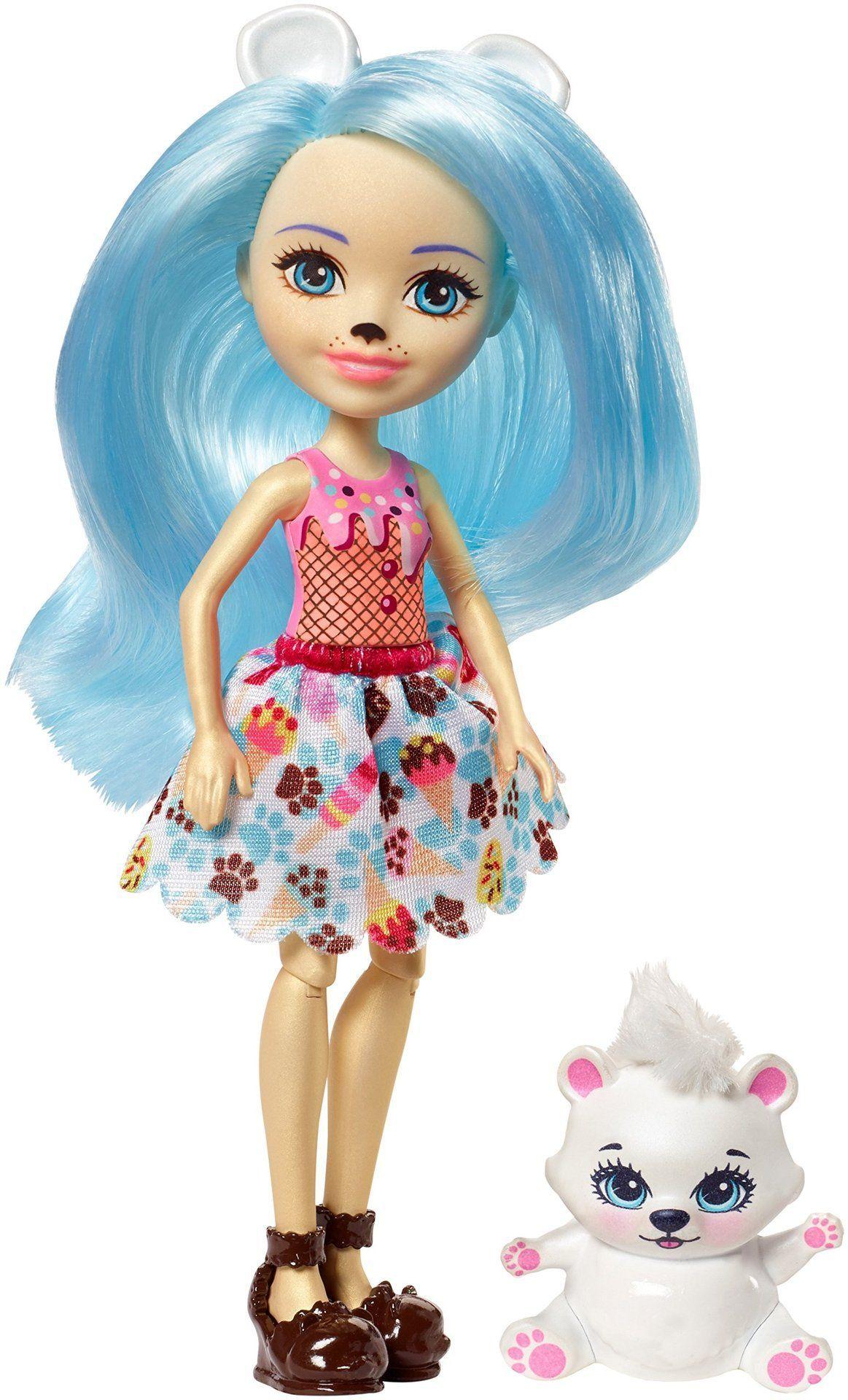 Enchantimals Dolls Wheel Frozen Treats Preena Penguin Jayla And Halloween Doll Enchanted Doll Dolls