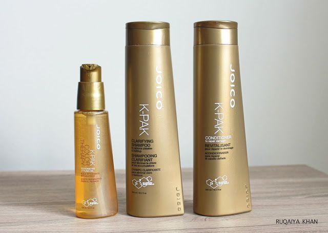 JOICO K-PAK Clarifying Shampoo, Conditioner and Restorative