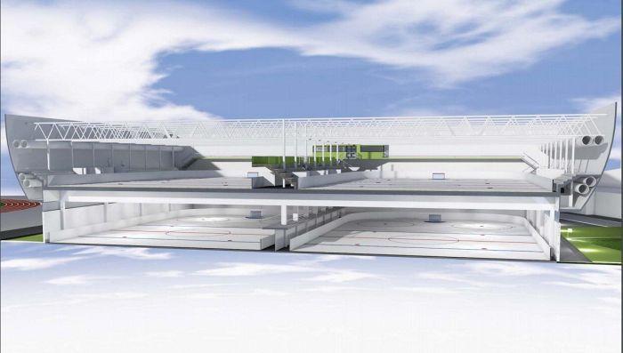 Homeinen jäähalli halutaan korvata jääurheilukeskuksella -HS