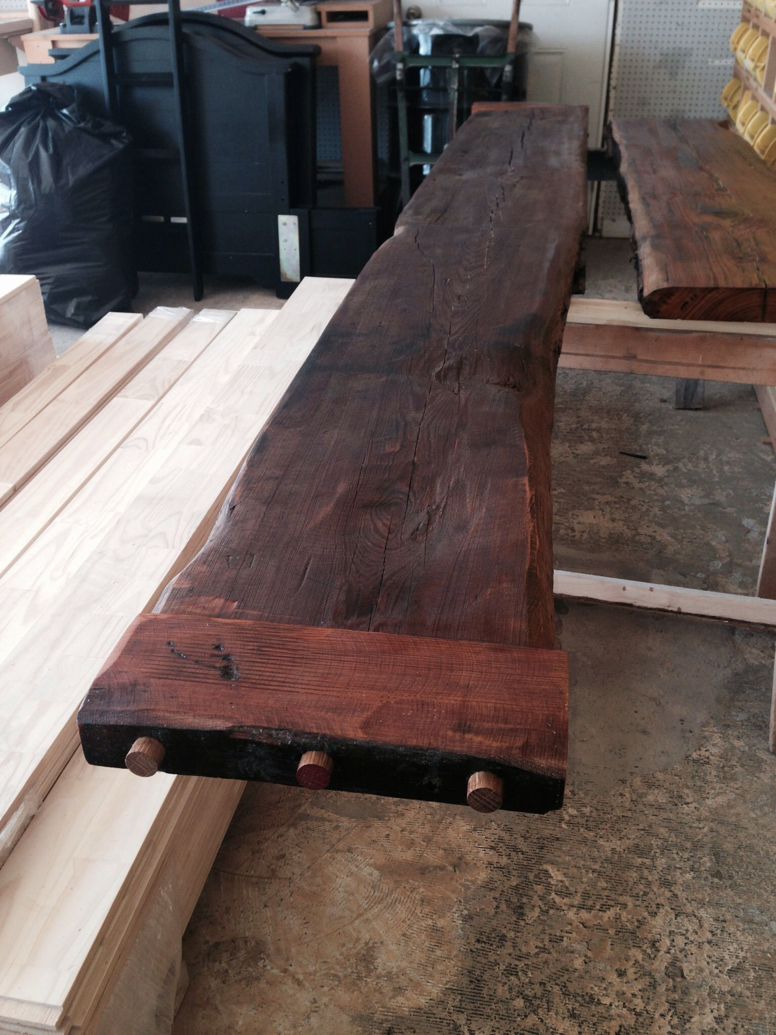 reclaimed heart pine bar top outdoor bar from reclaimed wood