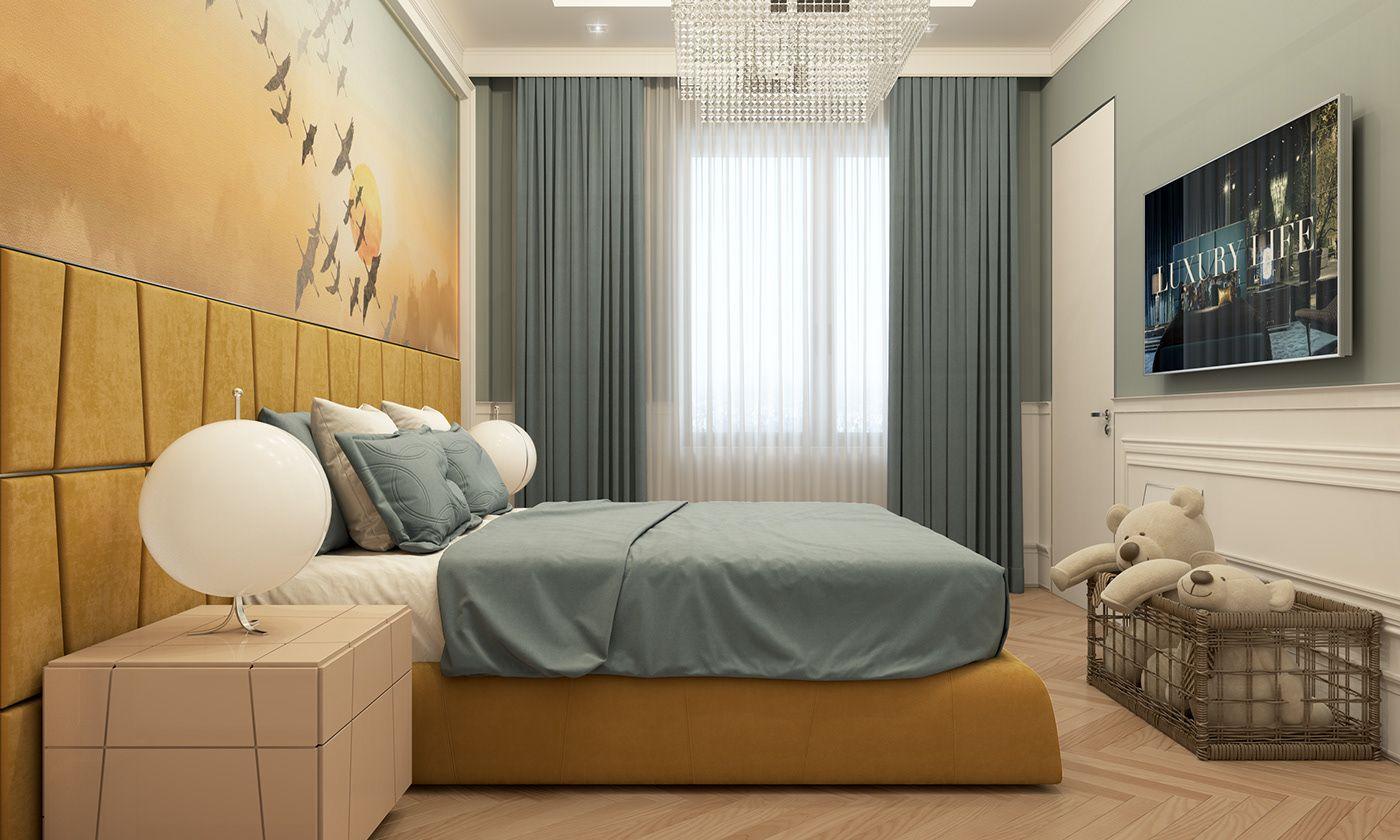 Child Bedroom Design. on Behance | Bedroom Ideas in 2019 | Kids ...
