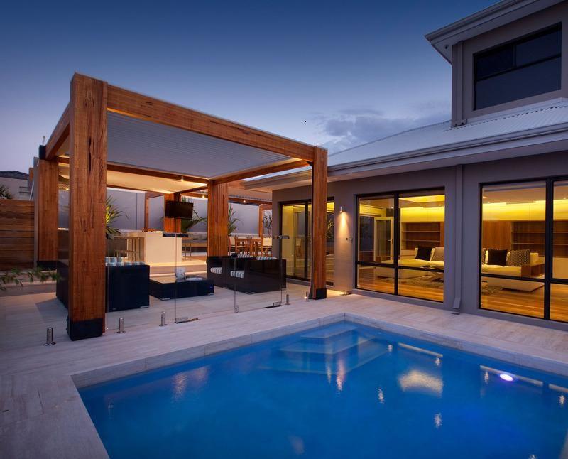 diseño de terraza de Ritz exteriores
