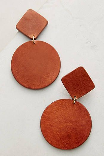 Photo of Simple leather earrings – #Simple #Leather earrings