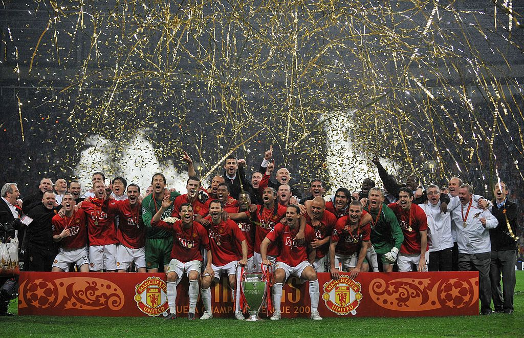 Image result for champions league final 2008 man utd winners