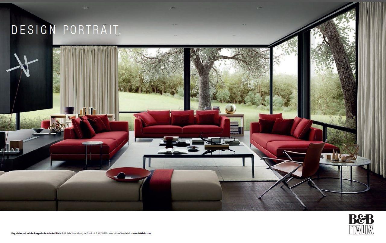 Lusso Mobili ~ Nuova campagna pubblicitaria b&b italia divani pinterest