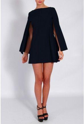Rare London cape dress