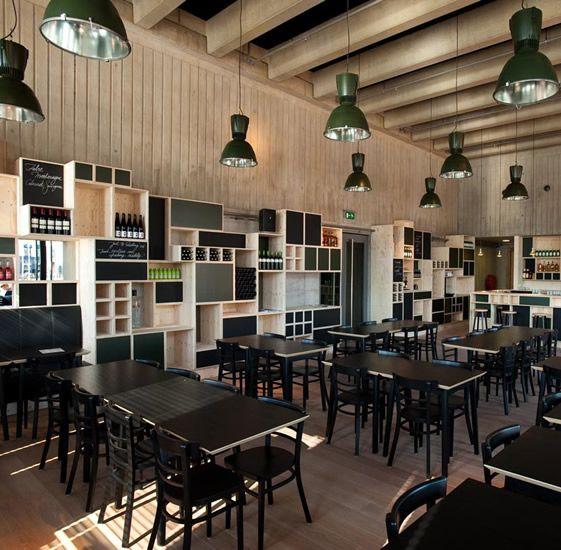 CafÉ storm at museum aan de stroom inspiring cafes