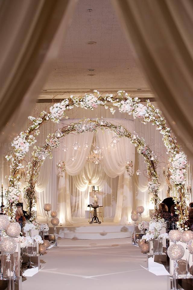 Bon 25 Romantic Winter Wedding Aisle Décor Ideas | Http://www.deerpearlflowers.