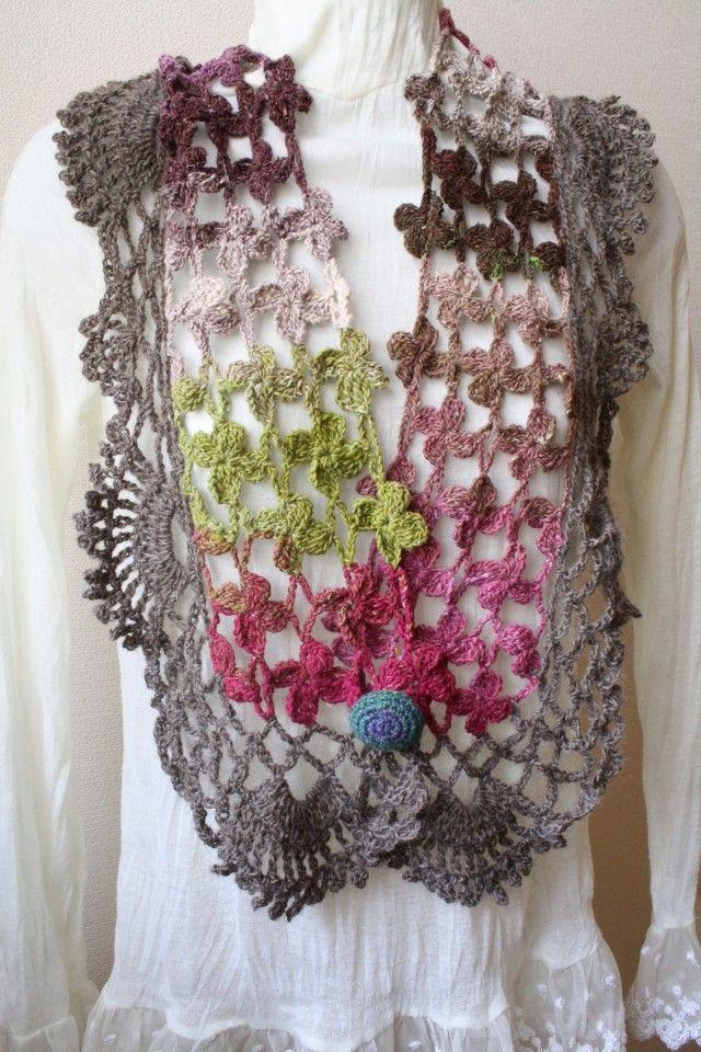 crochet scarf | sciarpe | Pinterest | Schals, Halstuch und Tücher