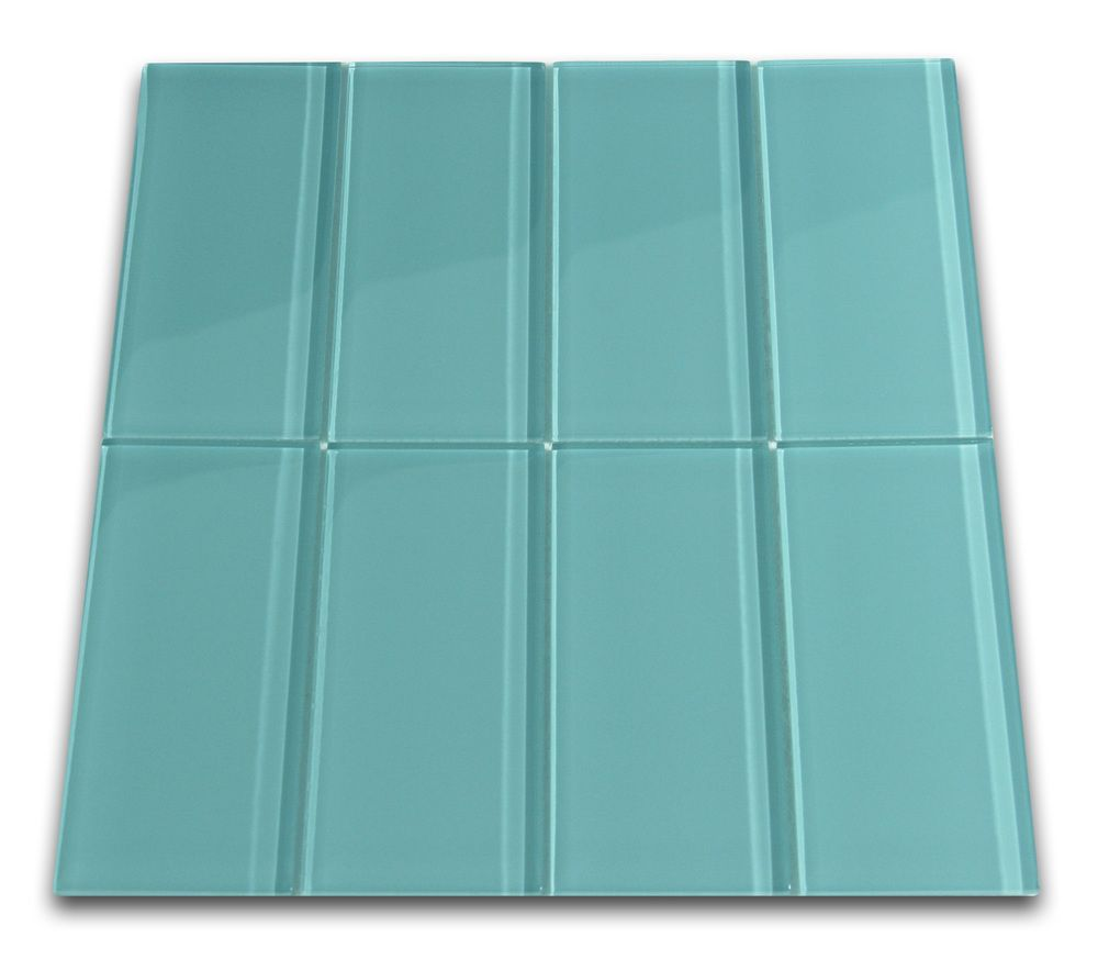 - Aqua Glass Subway Tile (With Images) Glass Subway Tile, Subway