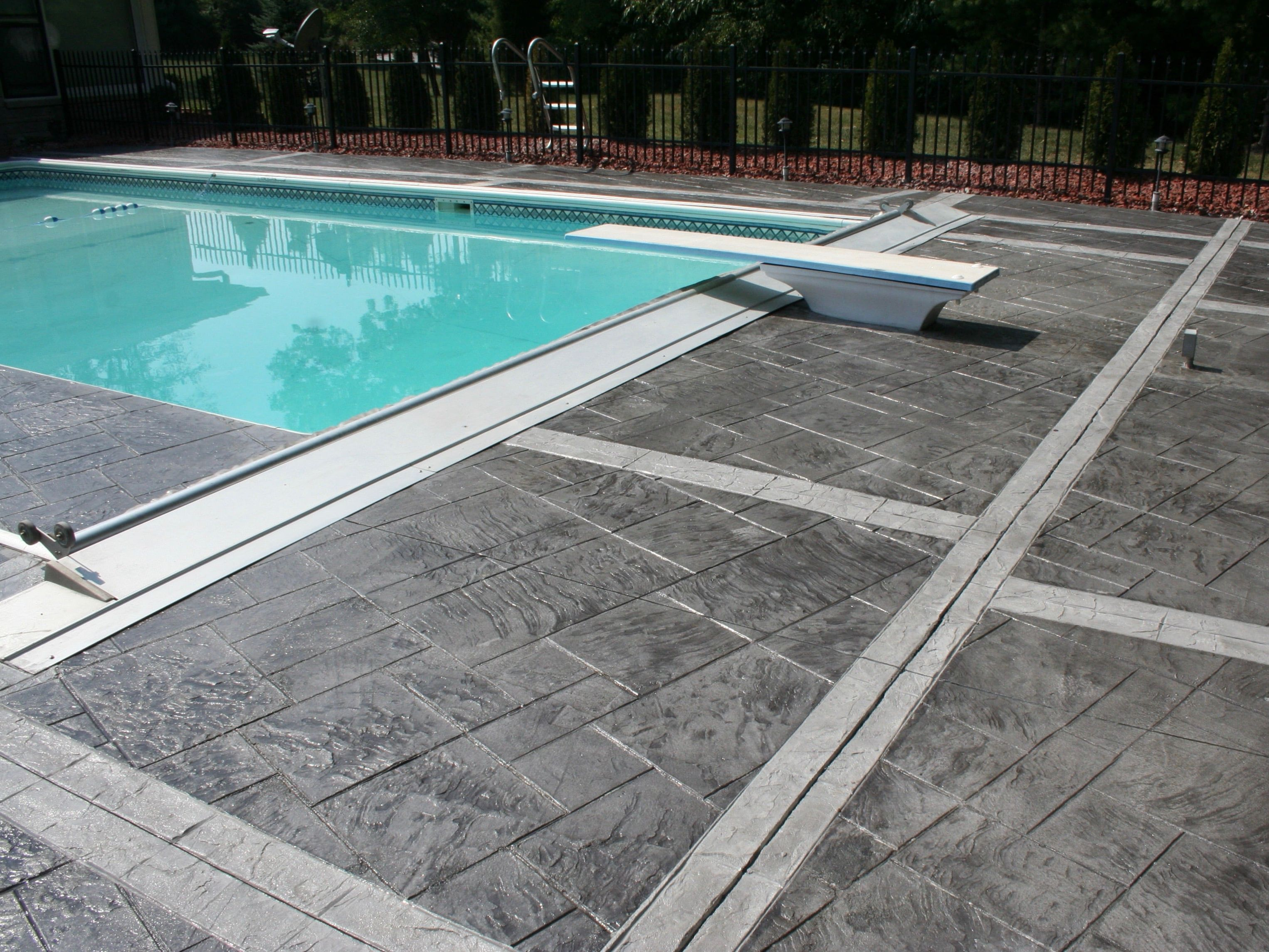 Best Paint For Concrete Pool Deck And Pool Deck Waterpark Surface Coatings Elite Crete Systems Concrete Pool Painting Concrete Pool Deck