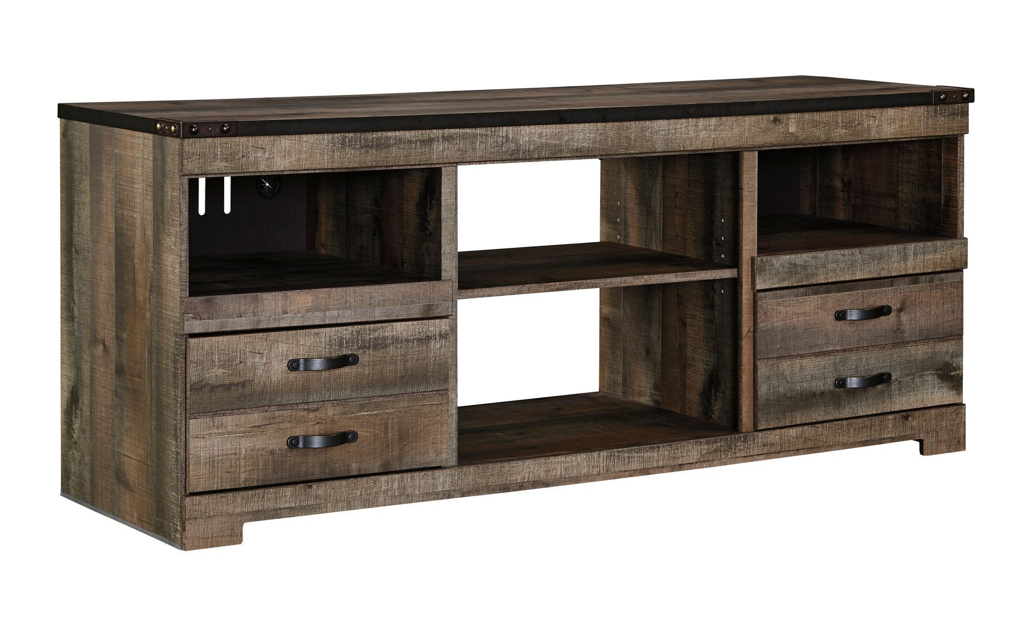 Trinell TV Stand Fireplace tv stand, Large tv stands