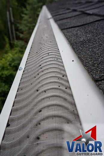 Great View Of Valor Gutter Guards Installed On This Home Find A Dealer Near You Gutter Rain Valorgutterguard Home Ma Gutters Gutter Guard Clogged Gutter