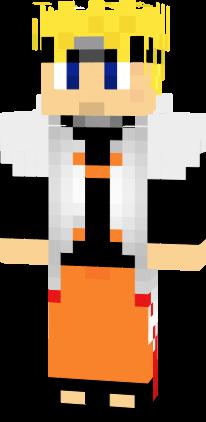 Naruto Hokage Nova Skin Naruto Minecraft Projects Minecraft Skins