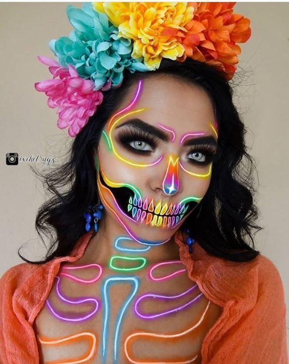 Top 20 Atemberaubendem Halloween Make-up-Ideen für 2019 | Of Life + Lisa
