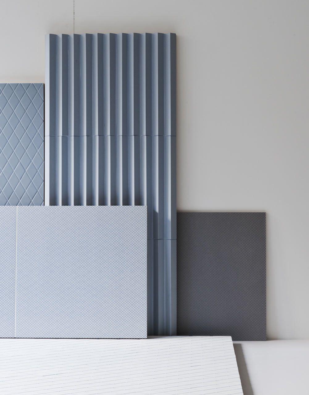 Tiles by Ronan & Erwan Bouroullec for Mutina | Pinterest | Fliesen ...