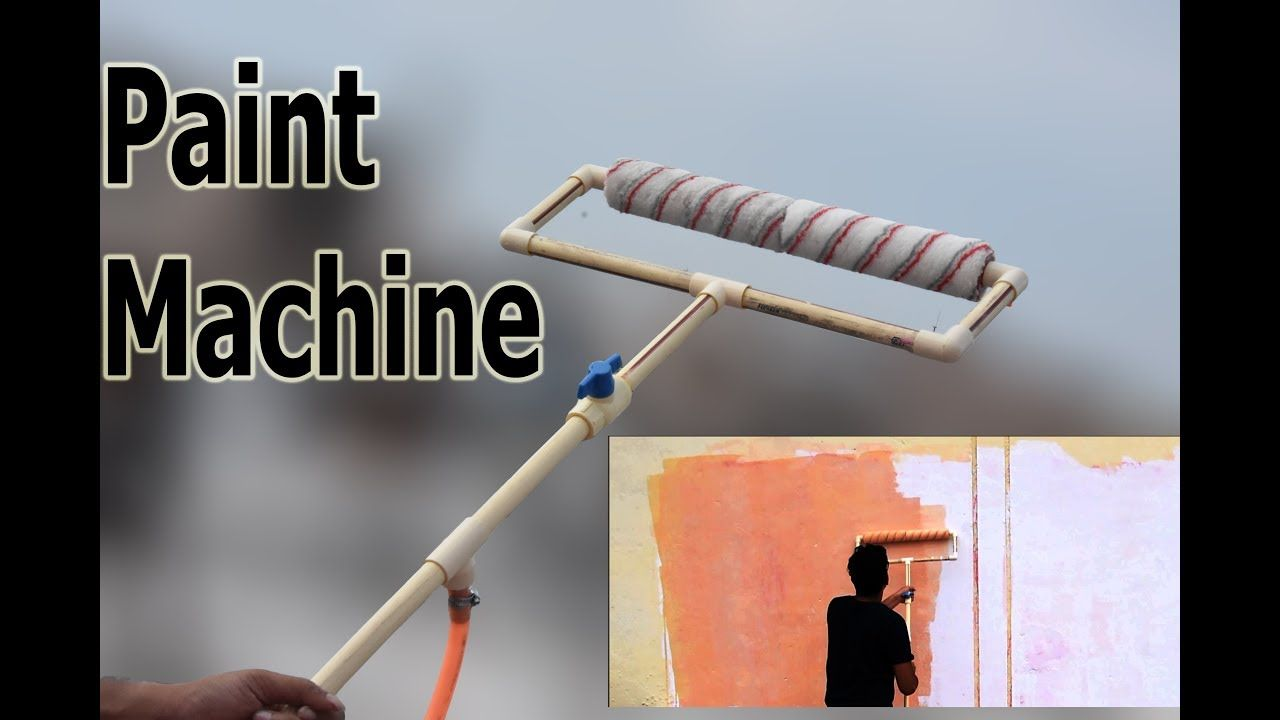 How To Make Semi Automatic Paint Machine At Home In 2020 Machine Painting Automatic