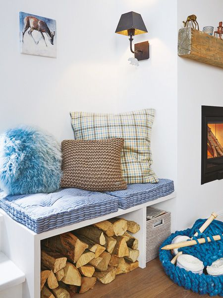 Wohnideen im Winter So wird es warm und gemütlich Nische - wohnzimmer gemutlich warm