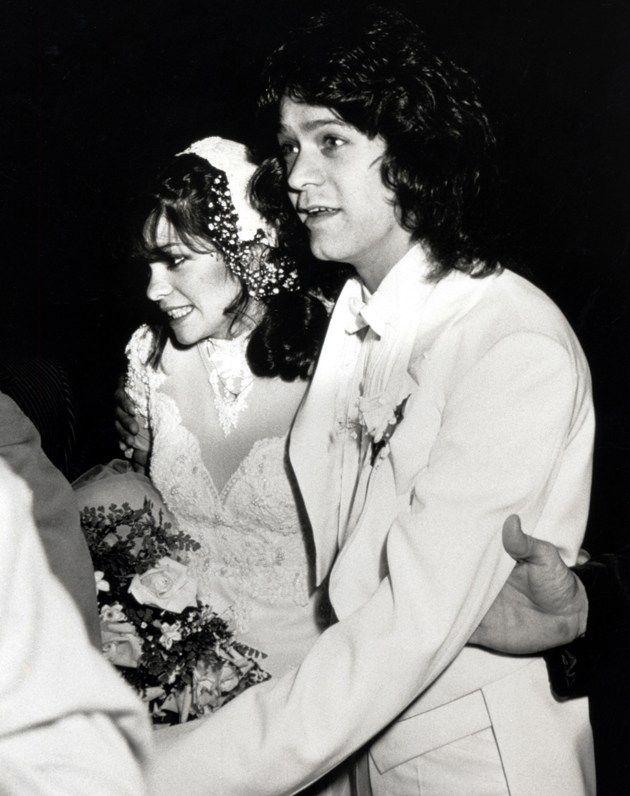 Eddie van halen and valerie bertinelli wedding photo 1981 for How long were eddie van halen and valerie bertinelli married