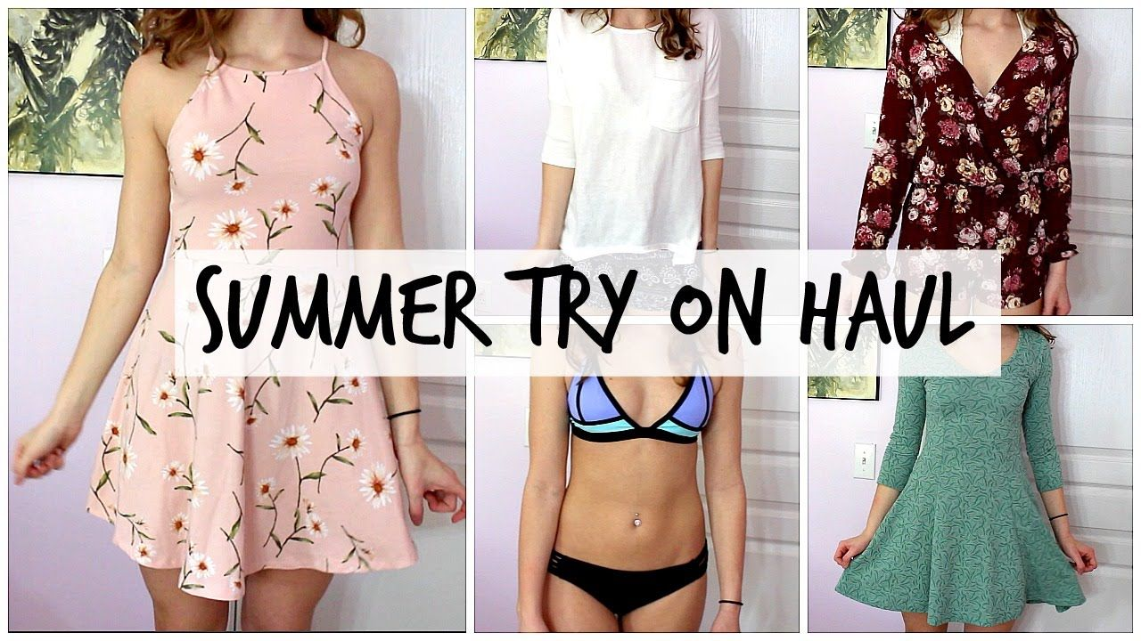 Collective Summer Try On Haul | Julia Corley - YouTube