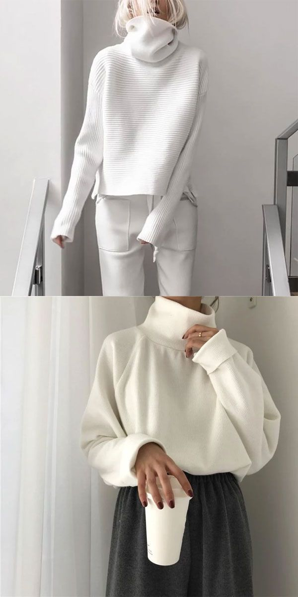 Turtleneck Sweater #fall2019fashiontrends