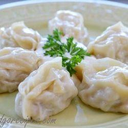 Manti (Russian Meat Dumplings)