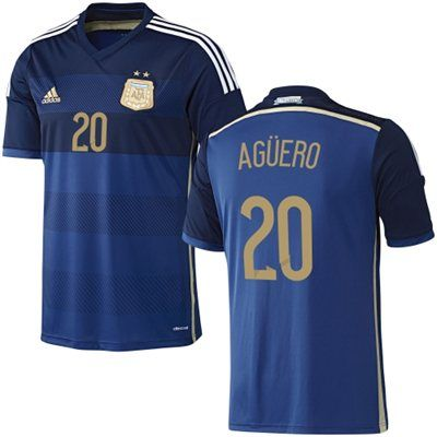 separation shoes d1bde 7c549 Argentina away jersey of #Aguero. #adidas brand. | World Cup ...