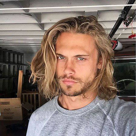 32++ Coiffure homme long blond des idees