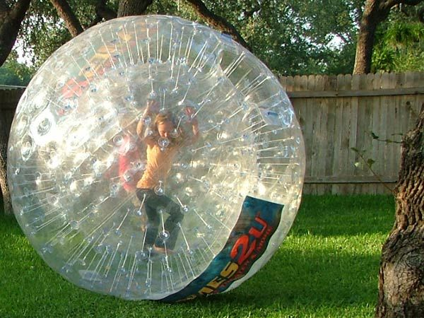 Games 2 U is a great birthday idea! Giant Hamster Balls
