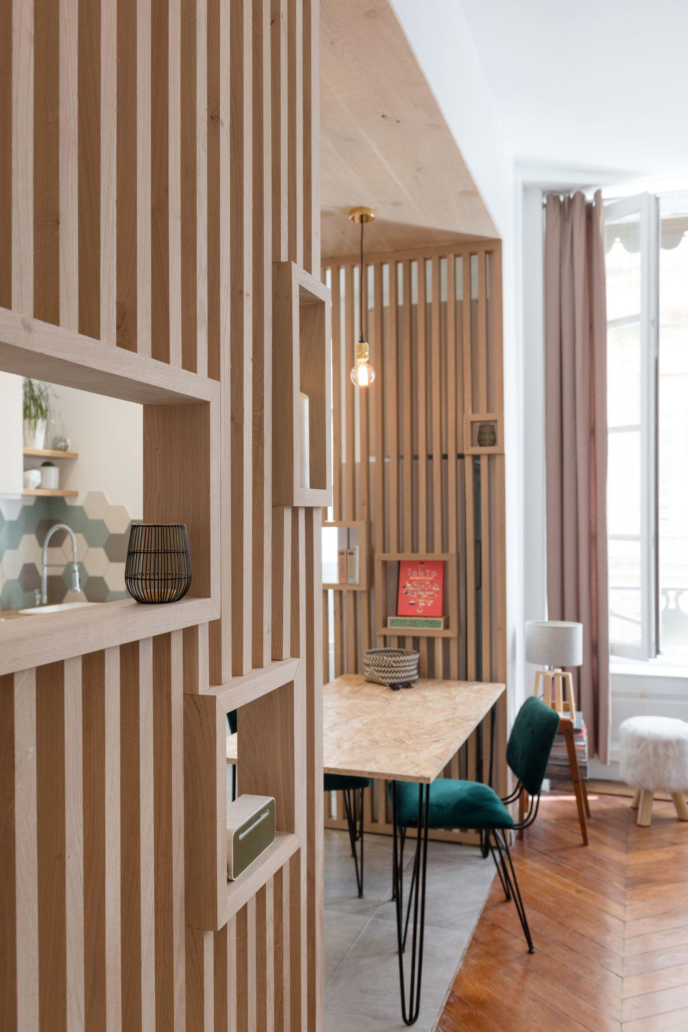 une cuisine ouverte dans un appartement lyonnais  planete