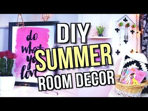 Diy Summer Room Decor Tumblr Inspired 2017 Katherine Elizabeth