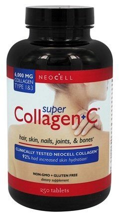 Neocell Super Collagen C Tablets Neocell Super Collagen Collagen Supplements Collagen