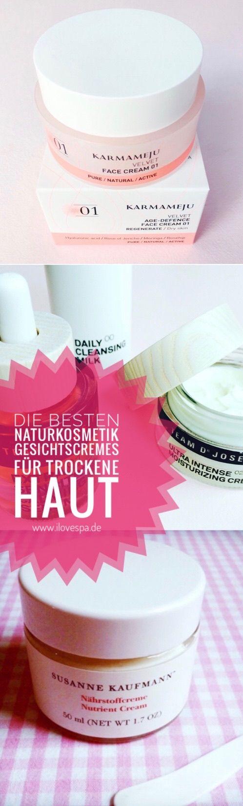 Die beste Naturkosmetik Gesichtscreme für trockene Haut im..