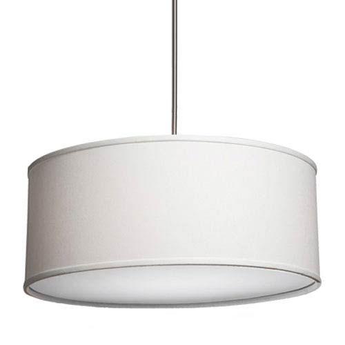 14 5 Inches High 25 Wide Steven Chris Lighting Mercer Street White Six Light Large Round Drum Pendant On