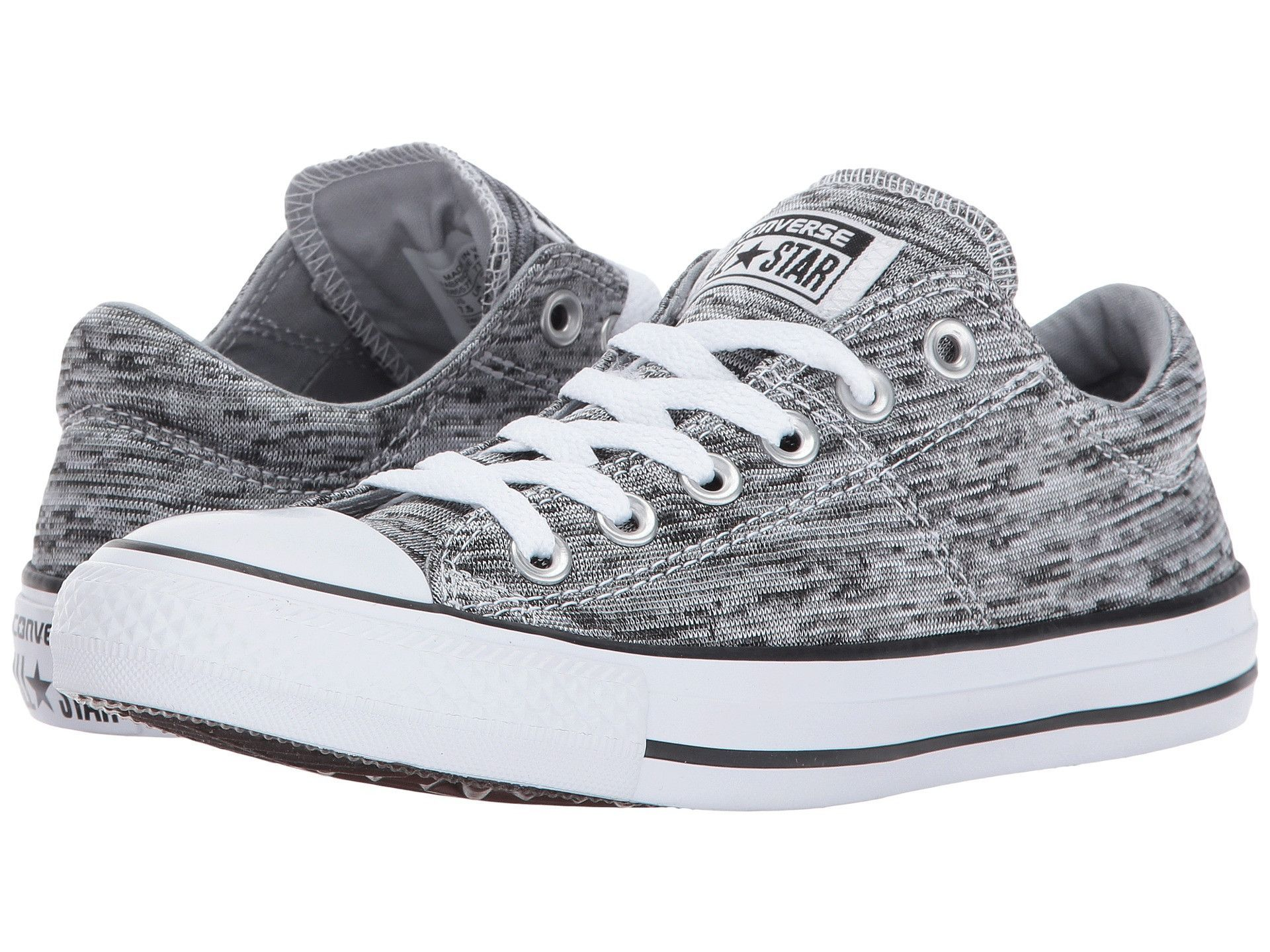 CONVERSE Chuck Taylor Madison Ox Women  Black   Wolf Grey   White 558557F