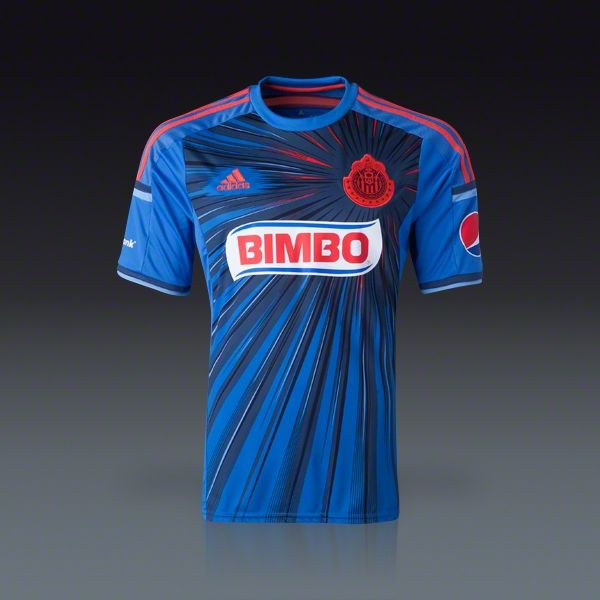 0f722507de1 adidas Chivas Third Jersey 2014
