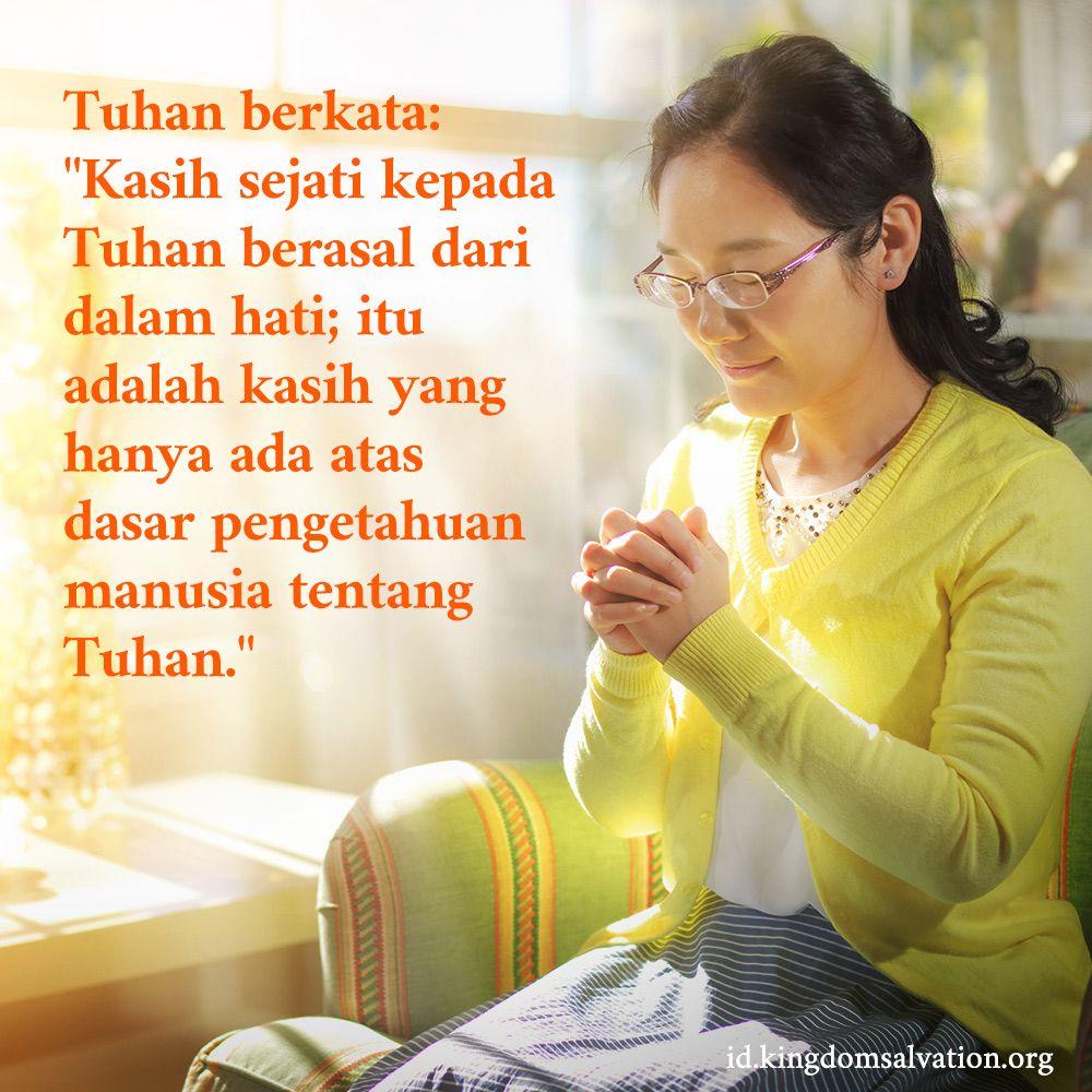 Cinta Sejati Untuk Tuhan Bersifat Spontan Tuhan Firman Tuhan Belajar Alkitab