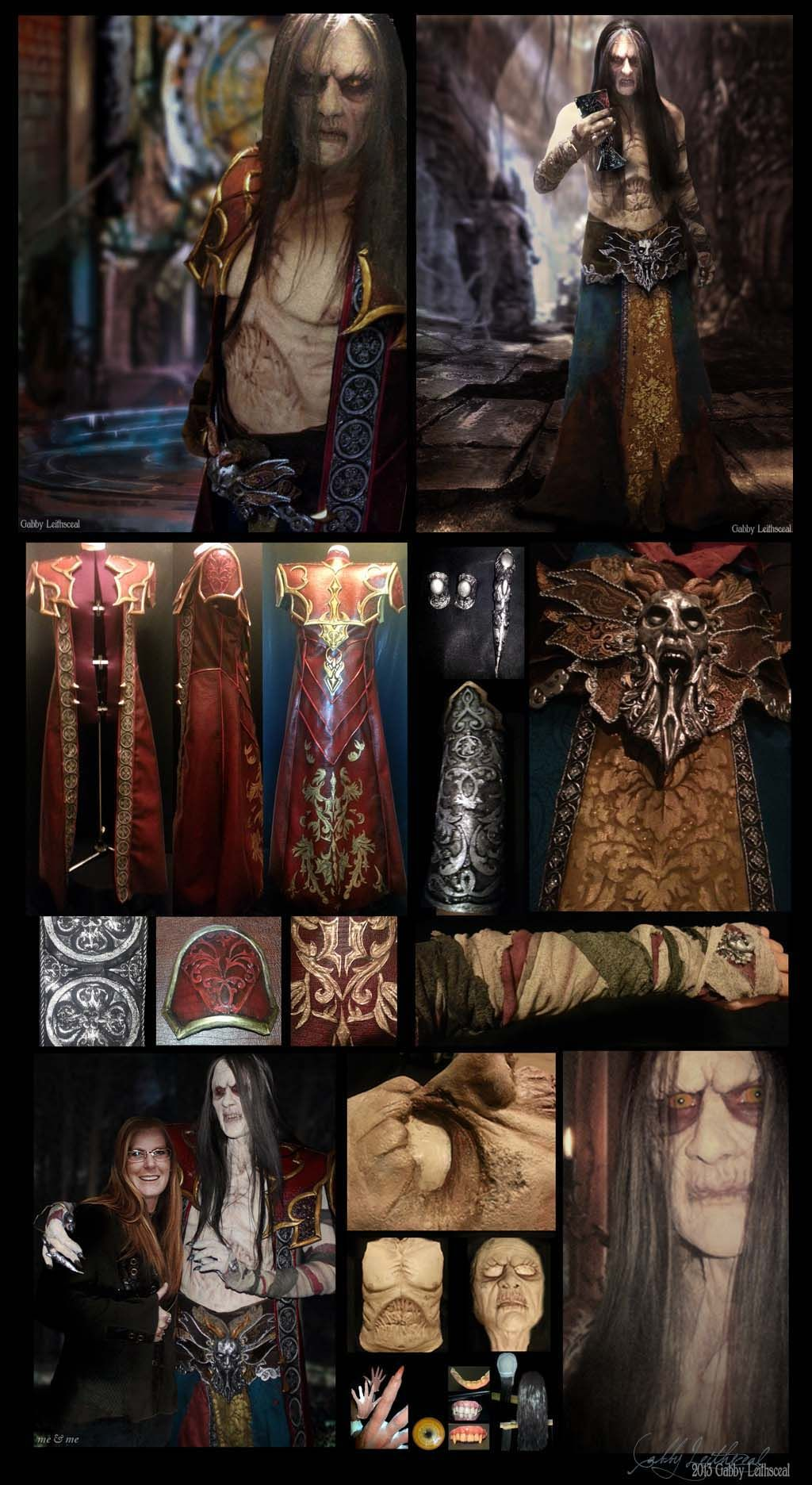 Gabriel Belmont (Dracula) Cosplay by GabbyLeithsceal.deviantart.com on @deviantART