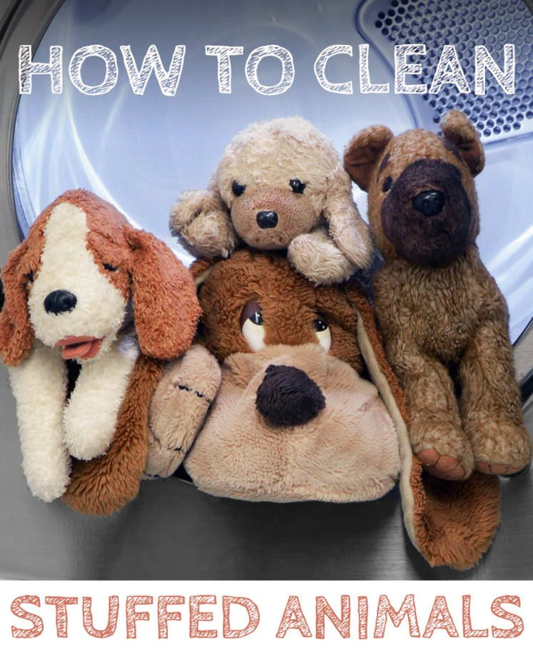 Heres how to wash your childs favorite stuffed animal
