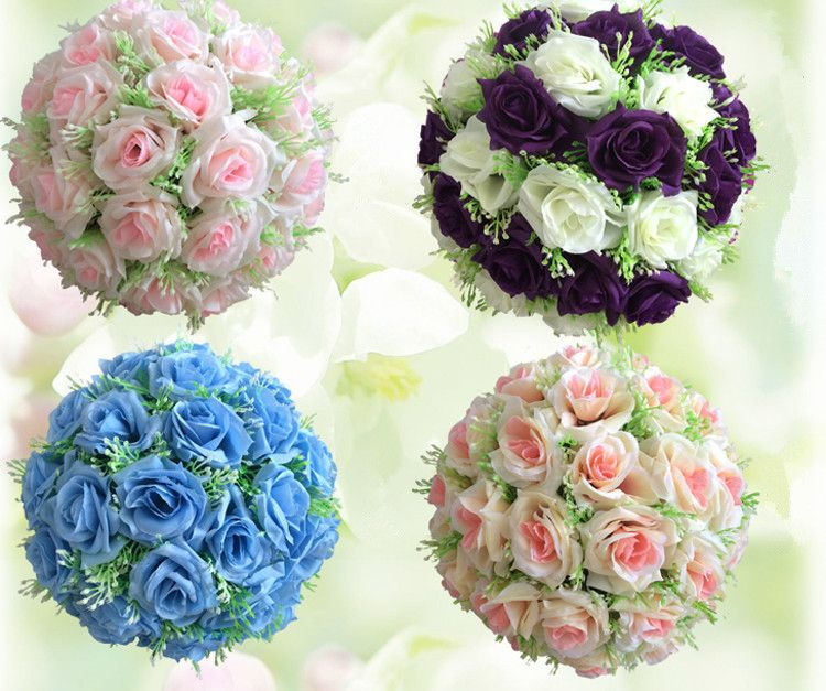 68 17cm silk flower wedding kissing balls pomander decorative 68 17cm silk flower wedding kissing balls pomander decorative hanging flower ball centerpieces mightylinksfo Choice Image