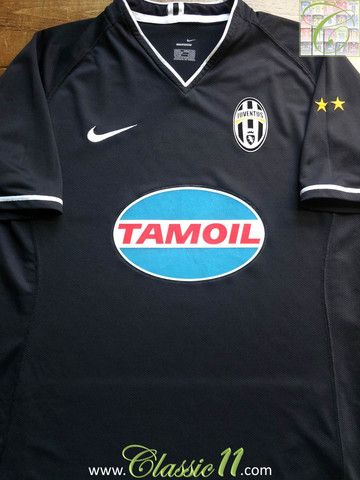 new arrival 771b4 3cb56 Relive Juventus' 2006/2007 season with this vintage Nike ...