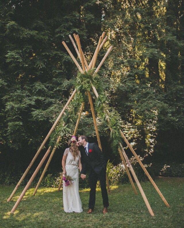 Outdoor Wedding Ceremony Whitby: Tipi Wedding, Wedding Arch, Wedding Alters