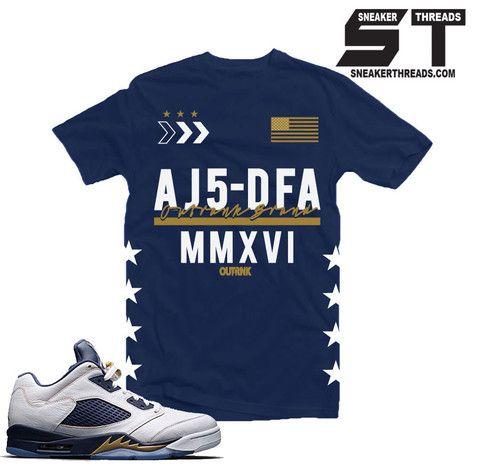 6aa66db19e077d Shirts match Jordan 5 dunk from above retro 5 sneaker tees.