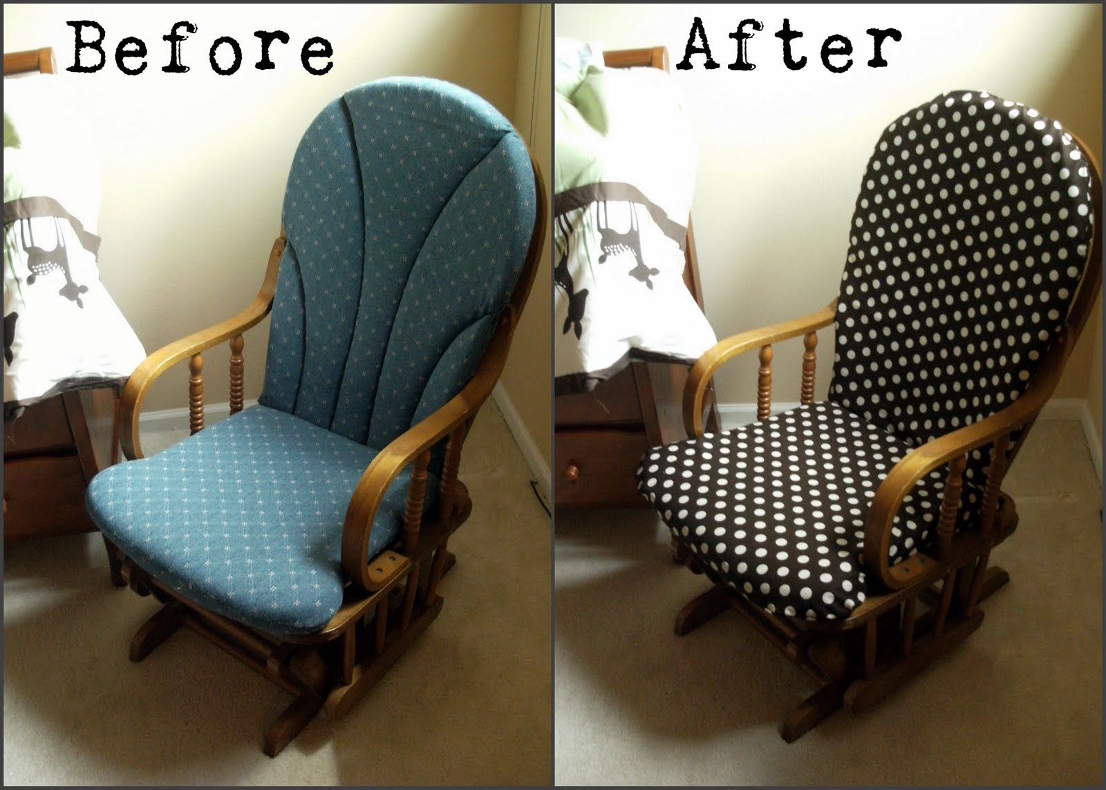 Mandipidy: Tuesday Tutorial: My First Re-Upholstery Project | DIY ...