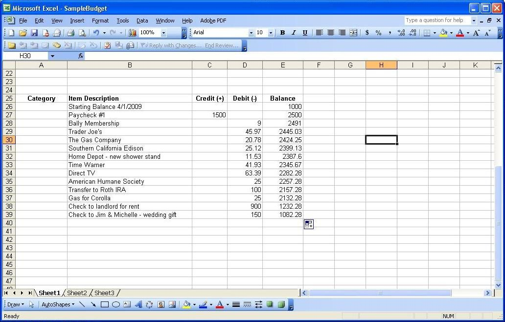 Income And Expenditure Account Template Excel Templates Excel Excel Templates Business Template
